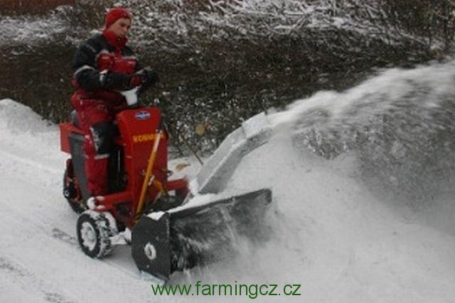 BOBMAN PRO se sněhovou frézou